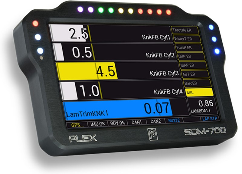 PLEX SDM-700 Display Module & Data Logger